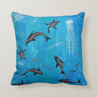 Dolphin Dreaming Pillow/Cushion Cushion