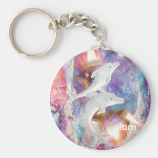 dolphin dreams, iam key ring