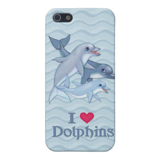 Dolphin Family iPhone 5/5S Cover