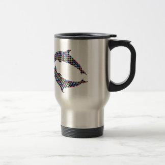 DOLPHIN fish animal game NVN97 NavINjoshi FUN Coffee Mug