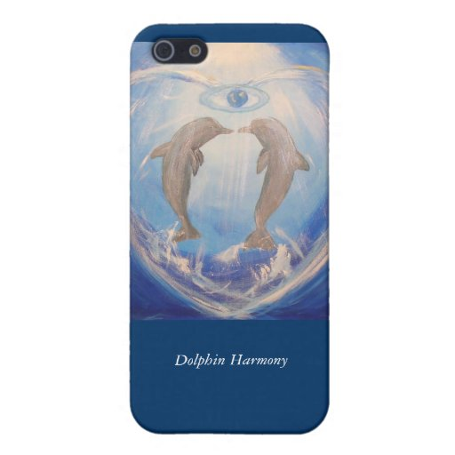 Dolphin Harmony iPhone 5 Cover