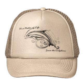 Dolphin Hat in Khaki & Khaki