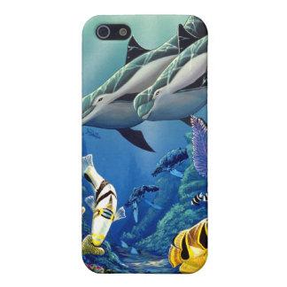 """Dolphin Illumination"" iPhone 5 Cover"