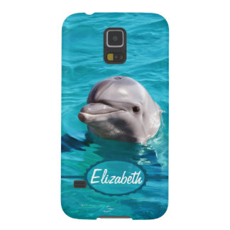 Dolphin in Blue Water Photo Galaxy S5 Cover