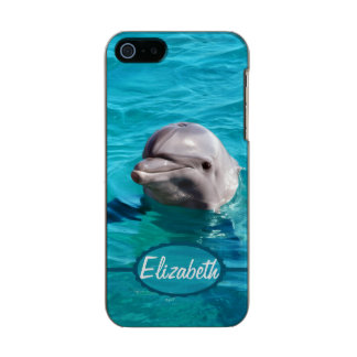 Dolphin in Blue Water Photo Incipio Feather® Shine iPhone 5 Case