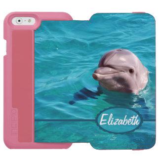 Dolphin in Blue Water Photo Incipio Watson™ iPhone 6 Wallet Case