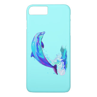 Dolphin in Colors iPhone 7 Plus Case