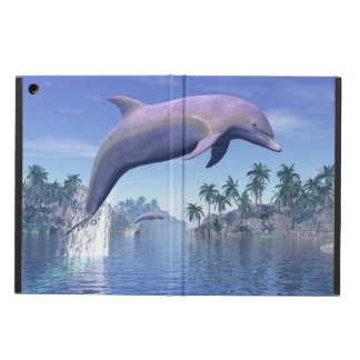 Dolphin in the tropics - 3D render iPad Air Cover