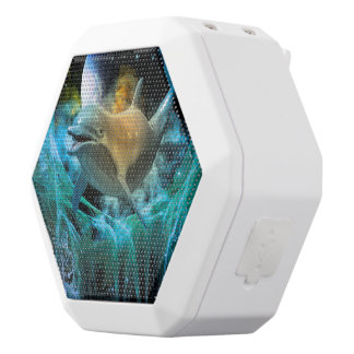 Dolphin in the universe white boombot rex bluetooth speaker