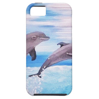 Dolphin Leap iPhone 5 Covers