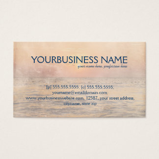 Dolphin love business card