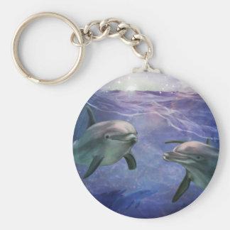 Dolphin Magic Key Ring