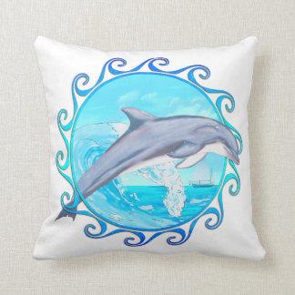 Dolphin Maori Sun Cushion