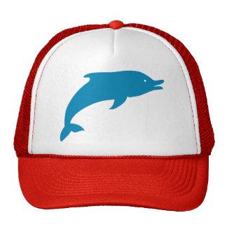 Dolphin Marine Mammals Fish Ocean Blue Animal Trucker Hat