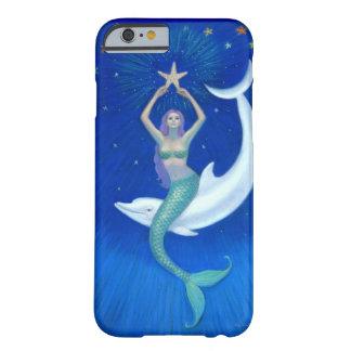 Dolphin Moon Mermaid Fantasy Art iPhone 6 case