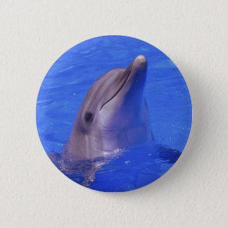 Dolphin Nose 6 Cm Round Badge