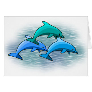 Dolphin notecards card