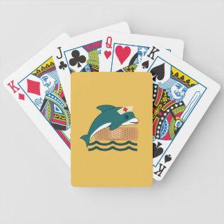 Dolphin Nurse Poker Deck