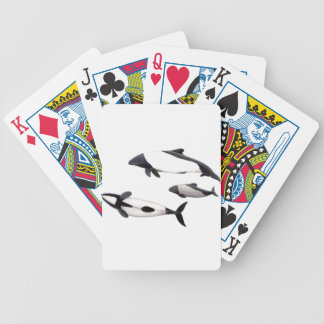 Dolphin of Commerson Bicycle Playing Cards
