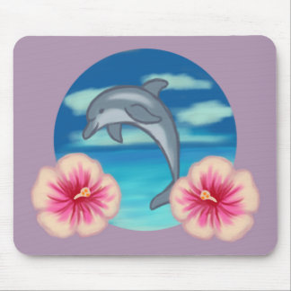 Dolphin Paradise Mouse Pad