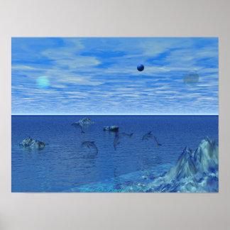 Dolphin Paradise Print