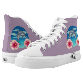 Dolphin Paradise Printed Shoes