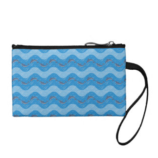 Dolphin Patterned Coin Purse