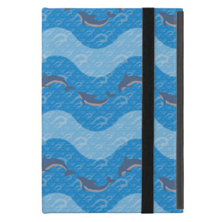 Dolphin Patterned Cover For iPad Mini