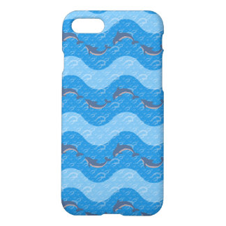 Dolphin Patterned iPhone 7 Case