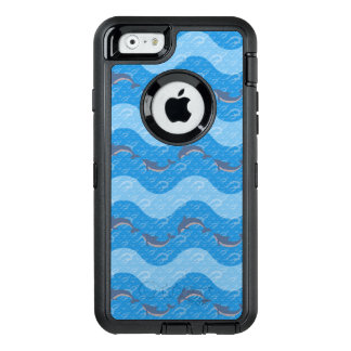 Dolphin Patterned OtterBox Defender iPhone Case