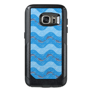 Dolphin Patterned OtterBox Samsung Galaxy S7 Case
