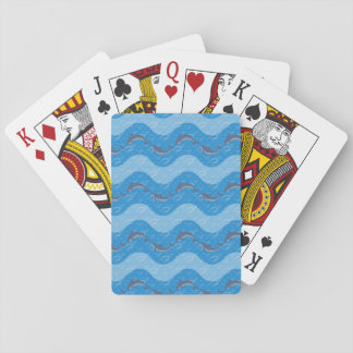 Dolphin Patterned Playing Cards