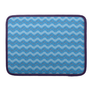 Dolphin Patterned Sleeve For MacBook Pro