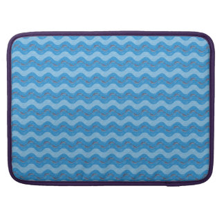 Dolphin Patterned Sleeve For MacBooks
