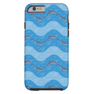 Dolphin Patterned Tough iPhone 6 Case