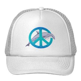 Dolphin Peace Hats
