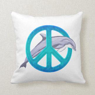 Dolphin Peace Cushion