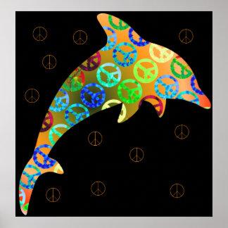 Dolphin Peace Sunday Print