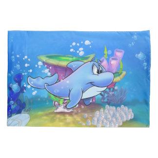 Dolphin pillowcase cartoon