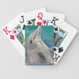 Canada - Canadian Goose in Park Watercolor Style Bicycle Playing Cards