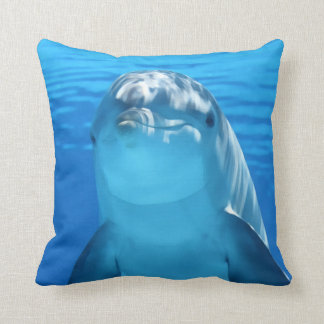 Dolphin Portrait Cushion