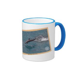 Dolphin Postcard Coffee Mug