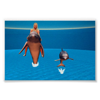 Dolphin Rider Poster