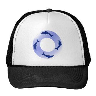 Dolphin Ring Trucker Hats