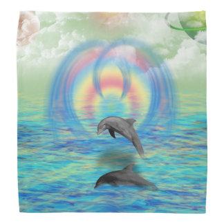 Dolphin Rising Bandana