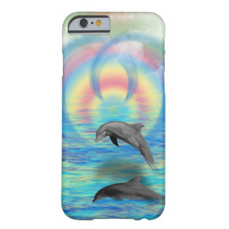 Dolphin Rising Barely There iPhone 6 Case