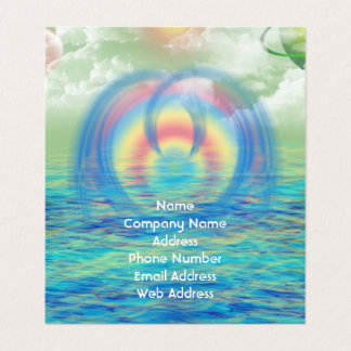 Dolphin Rising Business Card
