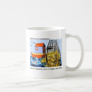Dolphin Safe Tuba Funny Gifts Tees & Collectibles Basic White Mug