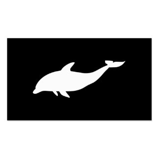 Dolphin Shape Pack Of Standard Business Cards