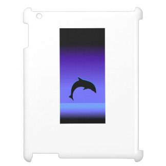 Dolphin Silhouette Cover For The iPad